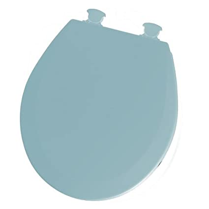 Turquoise Toilet Seat Cover. Westport Choice Hard Toilet Seat Easy Clean Blue Amazon com  Home