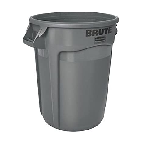 Rubbermaid Commercial Brute Round Container 75.7L - Blue FG262000BLUE