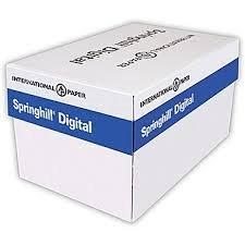 Digital Vellum Bristol White Cover, 67 Lb., 8-1/2 X 11, White, 2000 Sheets Per Case