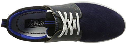s.Oliver Herren 13630 Low-Top Blau (DENIM 802)