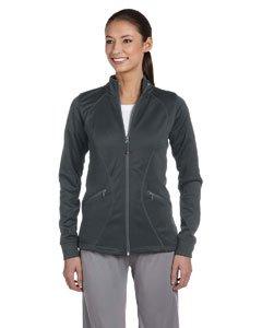 Russell Athletic Womens Tech Fleece Full-Zip Cadet Jacket (FS7EFX) -STEALTH -XL