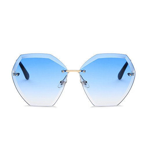 - AMOFINY Fashion Glasses Women Men Summer Vintage Retro Square Gradient Color Unisex Fashion Avi