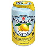 San Pellegrino(R) Sparkling Fruit Beverages, 11.15 Oz., Limonata, Pack Of 12