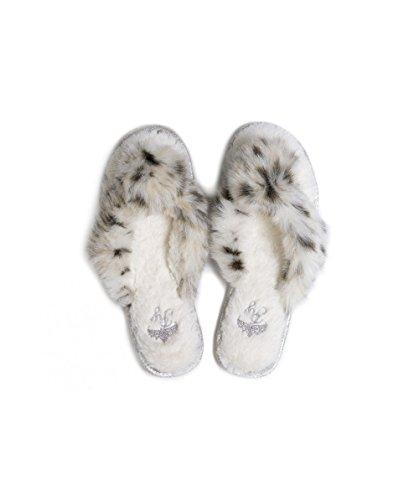 Pretty You London JODIE Women's Thong Slippers (Medium (US 6.5-7.5))