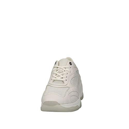 Femme white C1000 Blanc Basses D B Kirya Sneakers Geox XPBa6