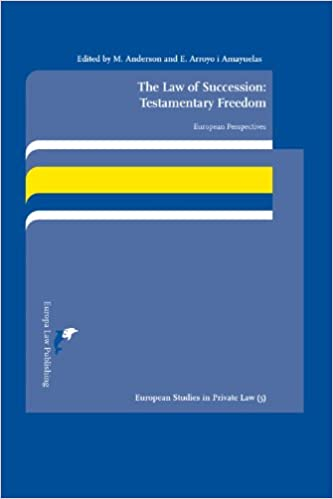 Last ned ebøker for gratis kobo The Law of Succession: Testamentary Freedom: European Perspectives (European Studies in Private Law) (Norwegian Edition) PDF PDB 9089520872