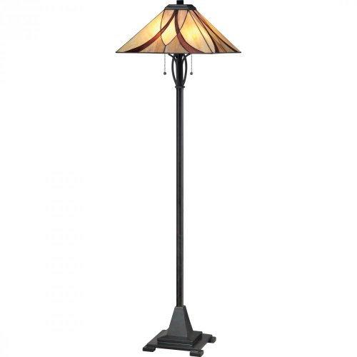 Quoizel TFAS9360VA Asheville with Valiant Bronze Finish Floor Lamp by Quoizel