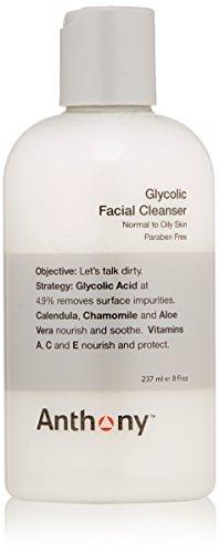 Limpiador Facial glicólico de Anthony, 8 fl. oz.