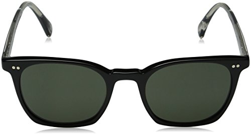 Oliver Peoples 5297 1492R5 Noir L. A Coen Sun Wayfarer Sunglasses Lens Category 3