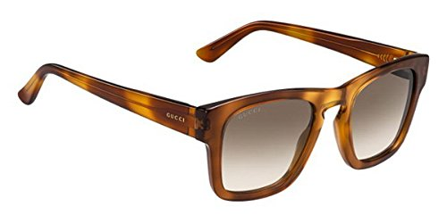 Gucci GG 3791/S OHNJD (Light Havana with Brown Gradient - Frames Rimless Gucci