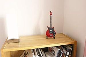 RGM02 Brian May Reina Rojo Especial Guitarra en Miniatura: Amazon ...