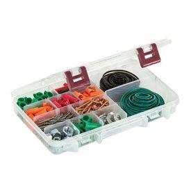 Plano ProLatch StowAway 6-21 Adjustable Compartment Box, 2365002, 11''L x 7-1/4''W x 1-3/4''H, Clear - Lot of 3