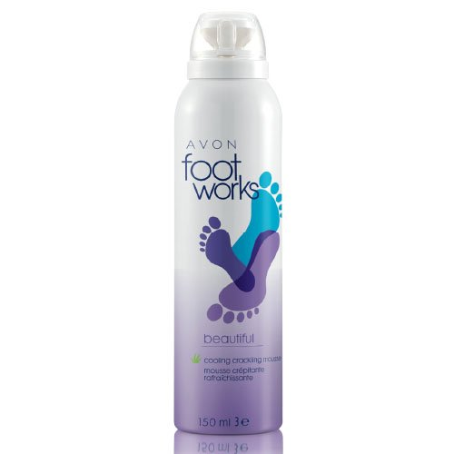 Avon Foot Works Cooling Crackling Mousse