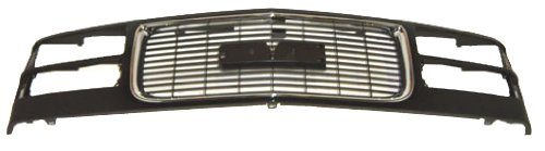 OE Replacement GMC Grille Assembly (Partslink Number GM1200392)