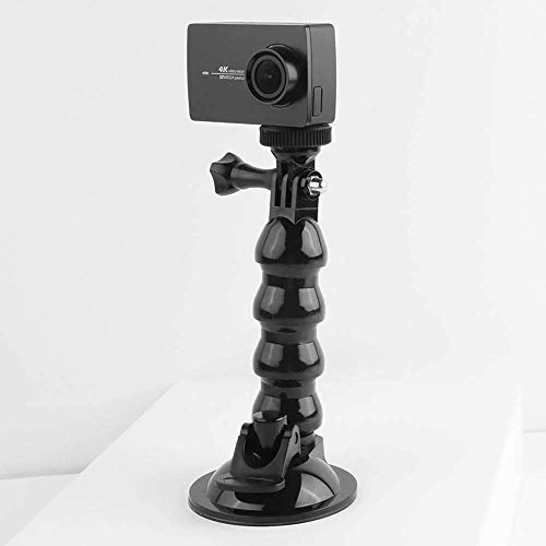 AMZER Suction Cup Jaws Flex Clamp Mount for DJI Osmo Action, GoPro New Hero/Hero 7/6 / -