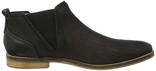 Bugatti 312173223500, Chelsea Boots Homme, Noir Noir (Schwarz 1000)