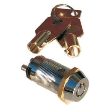 (SECO-LARM SS-090-2H0 Tubular Key Lock Switches)