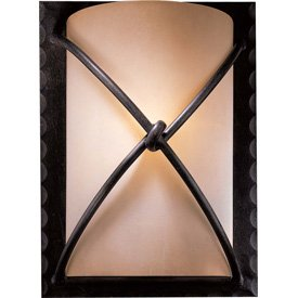 Minka Lavery 1972-138 1 Light Wall Sconce, Aspen Bronze Finish by Minka Lavery (Image #1)