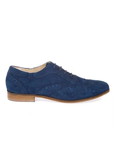De N7101navy Gamuza Azul Mujer Peperosa Zapatos Cordones qCFwAW1