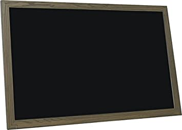 Amazoncom Billyboards 24x72 Chalkboard Rustic Brown Frame Finish
