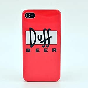comprar Patrón Doff Beer Hard Case para el iPhone 4/4S
