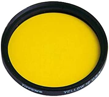 Tiffen 49Y12 49mm 12 Filter for Lenses Yellow