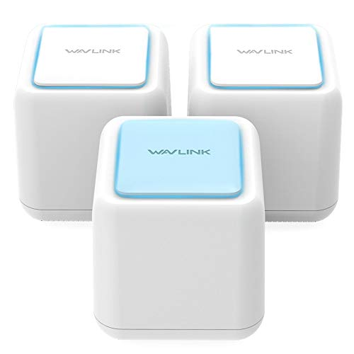 Wavlink Whole Home Mesh WiFi System/WiFi Router - Dual Band High Speed WiFi Coverage up to 6000sq.ft Works Any Devices(3 Pack)