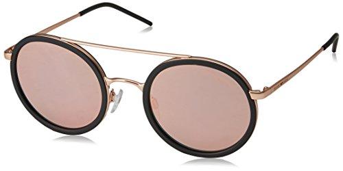 Emporio Armani EA2041 30044Z Matte Pink / Gold Black EA2041 Round Sunglasses - Armani Sunglasses Round