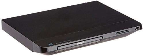 Philips BDP2285/F7B 3D Blu-Ray and DVD with Built-In Wi-Fi Refurbished (Black) by Philips