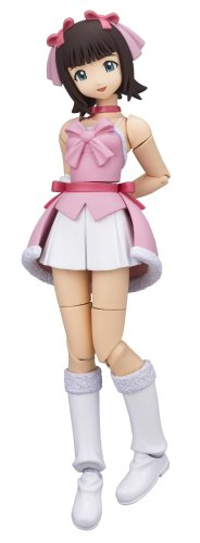 Revoltech Fraulein Idol Master Haruka Amami PVC Figure - Snow Strawberry Version