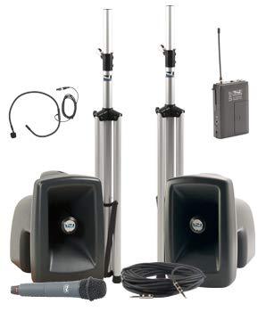 Anchor Audio MEGA-DPDDUAL-HH-CM MegaVox Dual Deluxe Package