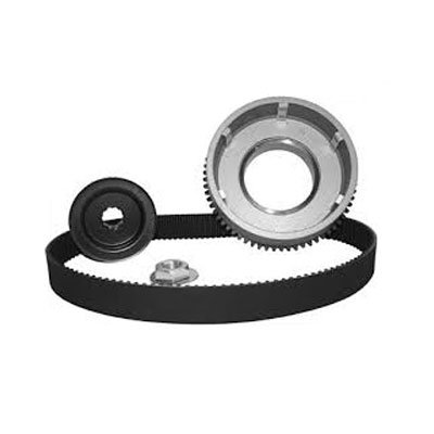 (Primo 1-1/2in. Wide 8MM Closed Primary Kickstart Only Belt Drive for Harley Dav)