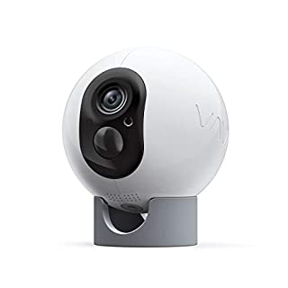 VAVA Cam Pro - Wireless Home Security Camera Outdoor/Indoor | Works with VAVA Base Station | 1080P Resolution | Motion Detection | Rechargeable | Local/Cloud Storage