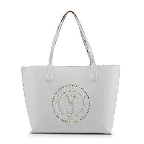 40x14x28cm Versace Borsa BEIGE E1VRBBQB700507 Donna Jeans fqaqXO