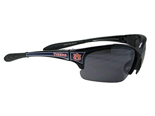 Auburn Tigers Sunglasses - Auburn Tigers AU Black Navy Blue Elite Mens Sunglasses S7JT
