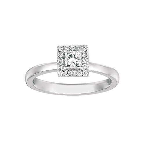 0.36 Ct Princess Diamond - 6