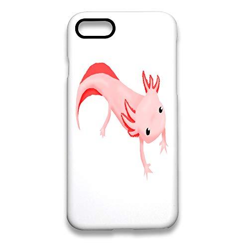 iPhone 8 Case/iPhone 7 Case (4.7 inches) Axolotls Salamander Anti-Scratch Resistant Cover Case White ()