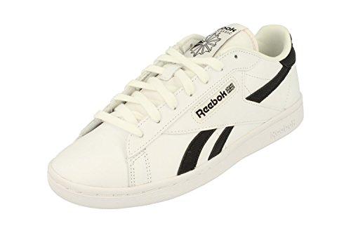 Reebok Classique Npc Uk Eb Femmes Formateurs Sneakers Blanc Noir Aq9823