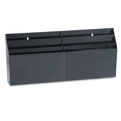 RUB96060ROS - Rubbermaid Optimizers Six-Pocket Organizer (Three Rubbermaid Pocket)