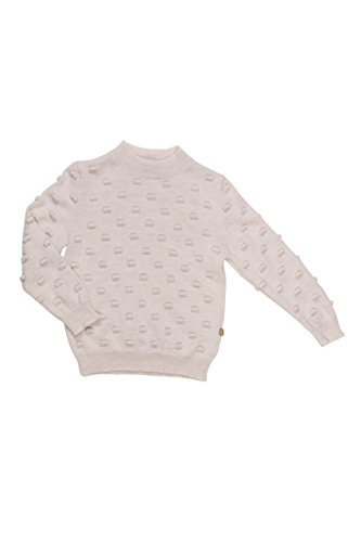 Nui Organics Kelly Sweater Natural White For Babies Toddl...
