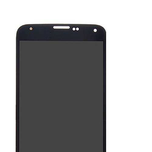 Samsung Galaxy S5 LCD Display Screen Replacement + Touch Digitizer Assembly for I9600 G900 G900A G900F G900P G900T G900V G900R4, with Repair tools + screen protector (Black) by Flying Ocean (Image #1)