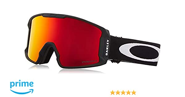 1548361564 Amazon.com   Oakley Line Miner Adult Snowmobile Goggles - Matte Black Prizm  Torch Iridium Medium   Sports   Outdoors