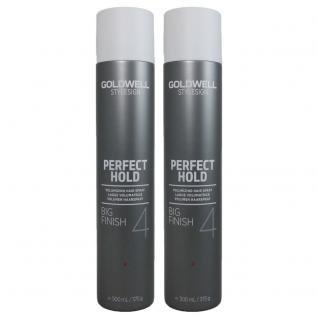 Goldwell Big Finish (Goldwell Stylesign 4 Perfect Hold Big Finish Volumizing Hair Spray 8.7 oz. - 2 Pack)