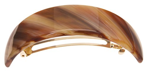 France Luxe Extra Volume Barrette - Caramel Horn by France Luxe