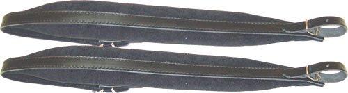 Scarlatti SMS-68 Bretelle rembourrée pour Accordéon diatonique/accordéon 72 basse Noir Bretelles pour accordéons