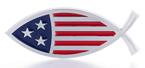 STAR-SPANGLED FISH Magnet - Made in