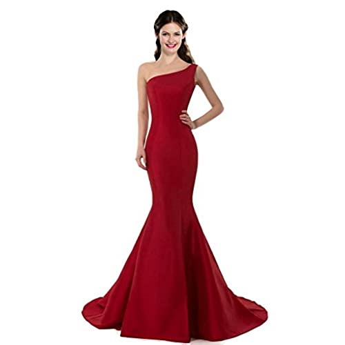 Burgundy/red Dresses: Amazon.com