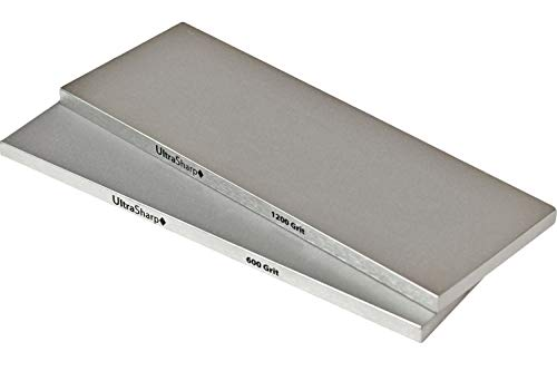 Ultra Sharp Diamond Sharpening Stone Set - Fine/Extra Fine - 8 x 3 ()
