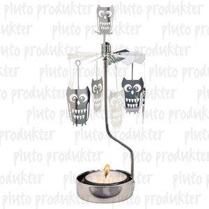 Owl Rotary Candleholder ()