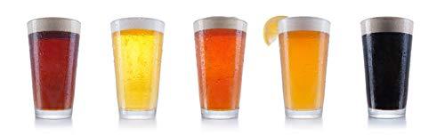 Chefs Star Beer Glasses